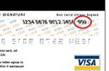 Visa CVV2 example